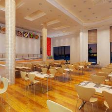 Restaurant 096 3D Model