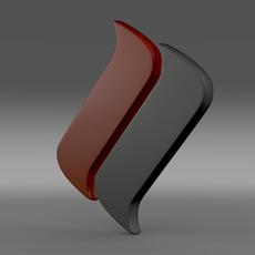 Ascari Logo 3D Model