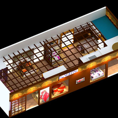 Store space 001 3D Model