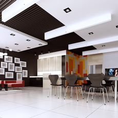 Store space 005 3D Model