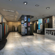 Store space 014 3D Model
