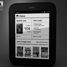 Barnes & Noble Nook Simple Touch 3D Model