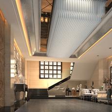 Lobby 077 3D Model
