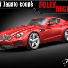 BMW Zagato coupè concept 3D Model