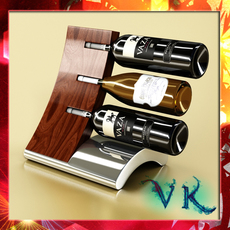 Wine Bottles Rack 2 3D Model