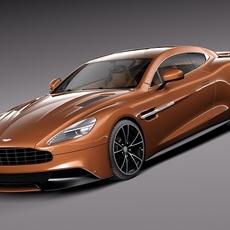 Aston Martin 2013 AM 310 Vanquish 3D Model
