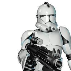 Stormtrooper Quinn ver. 1.15 3D Model