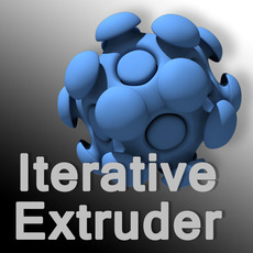 Iterative Extruder for Maya 1.1.0 (maya script)