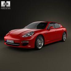 Porsche Panamera 2012 3D Model