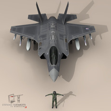 F 35 A Royal Norwegian air force 3D Model