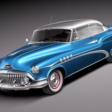Buick Roadmaster Riviera 1952 3D Model