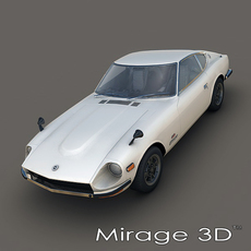 Nissan Fairlady Z 432 1969 3D Model