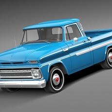 Chevrolet C10 1965 Pickup 3D Model