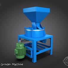 Flour Grinder Machine  3D Model
