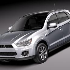 Mitsubishi RVR ASX Outlander sport 2013 3D Model