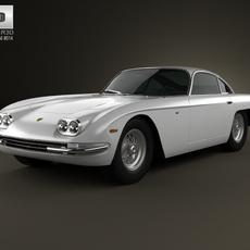 Lamborghini 400GT 1966 3D Model