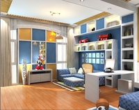 Modern Kids Bedroom 3D Model