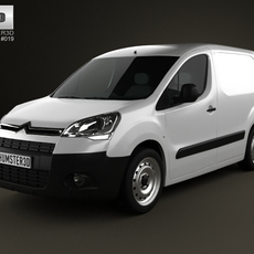Citroen Berlingo Panel Van L1 2011 3D Model