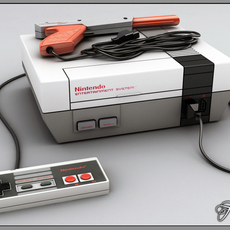 NES complete pack 3D Model