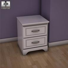 Ashley Lulu Nightstand 3D Model