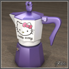 Hello Kitty moka 1 3D Model