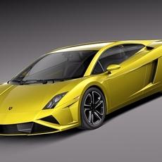 Lamborghini Gallardo LP560-4 2013 3D Model