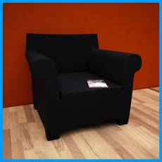 boston legal armchair 5 3D Model
