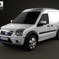 Ford Transit Connect LWB 2012 3D Model
