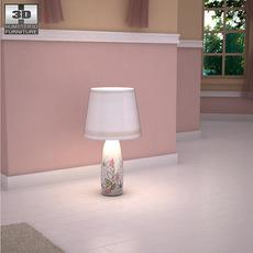 Ashley Doll House Sleigh Lamp 3D Model