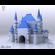Blue Castle  3D Model