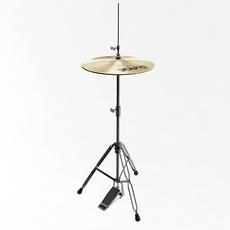 Hi Hat Cymbal 3D Model