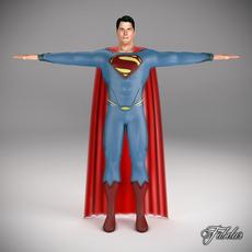 SUPERMAN 2013 3D Model