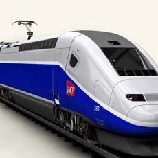 TGV Duplex 3D Model