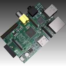 Raspberry Pi Computer 3D Model