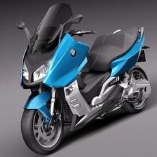 BMW C600 SPORT 2013 3D Model