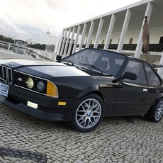BMW 6 Series E24 MPower 3D Model