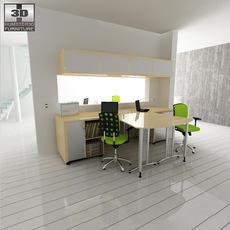 Office set 26 3D Model
