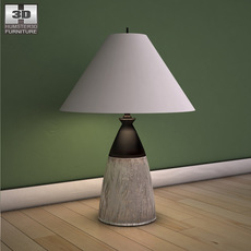 Ashley Camp Huntington Poster Table Lamp 3D Model