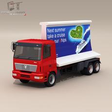 Ad truck 3D Model