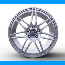 Audi Wheel 3D Model