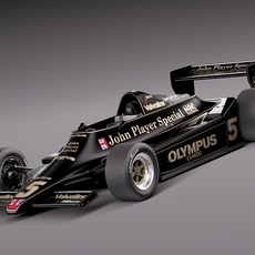 Lotus 79 John Player Special Grand Prix 1978 3D Model