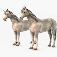 Unicorn or horse 3D Model