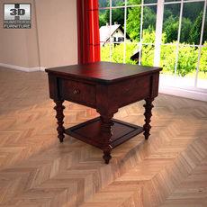 Ashley Key Town - Truffle Table 3D Model