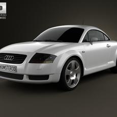 Audi TT Coupe (8N) 2003 3D Model