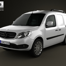 Mercedes-Benz Citan Delivery Van 2012 3D Model