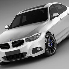 BMW 3 GT M package 3D Model