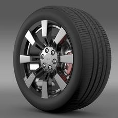 GMC Denali Hybrid wheel 3D Model