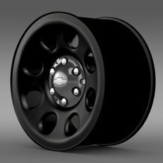 Chevrolet Tahoe Police rim 3D Model