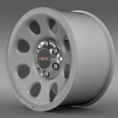 GMC Yukon Police rim 3D Model