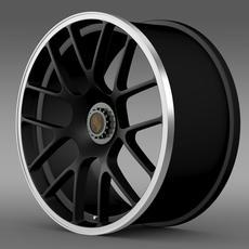 Porsche 911 Carerra GTS rim 3D Model